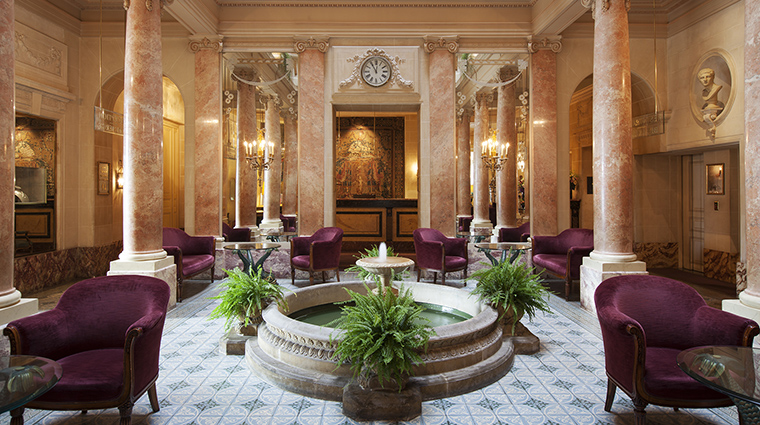 Property BeauRivage Hotel PublicSpaces Lobby HotelBeauRivage