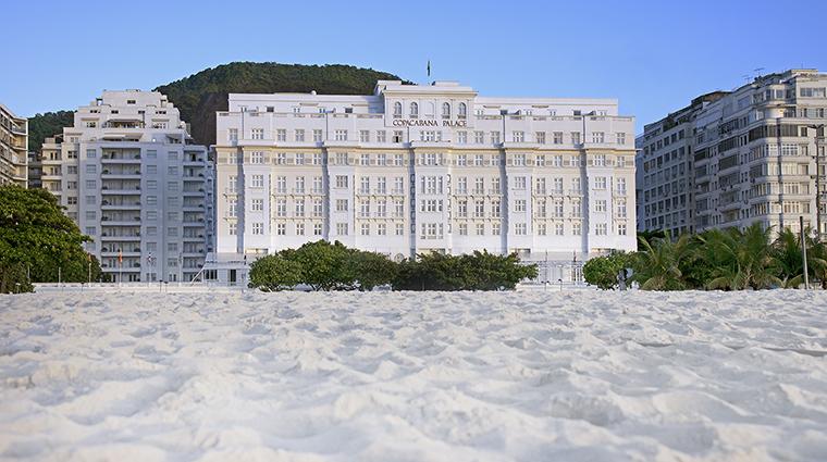 Property BelmondCopacabanaPalace Hotel Exterior ExteriorfromBeach BelmondManagementServicesSARL
