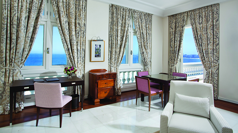 Property BelmondCopacabanaPalace Hotel GuestroomSuite SuiteLivingRoom BelmondManagementServicesSARL