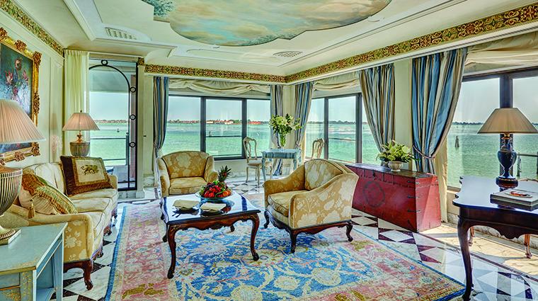 Property BelmondHotelCipriani Hotel GuestroomSuite PalladioSuiteLivingRoom BelmondManagementLimited