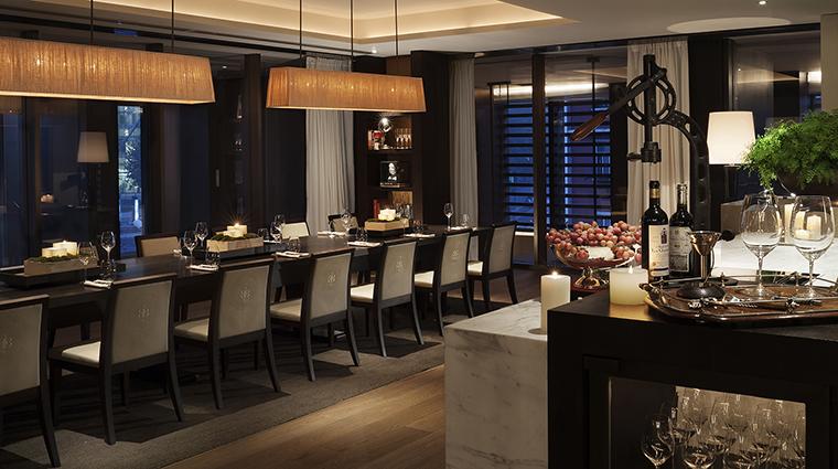 Property BistroB Restaurant WineRoom2 RosewoodHotelsandResortsLLC