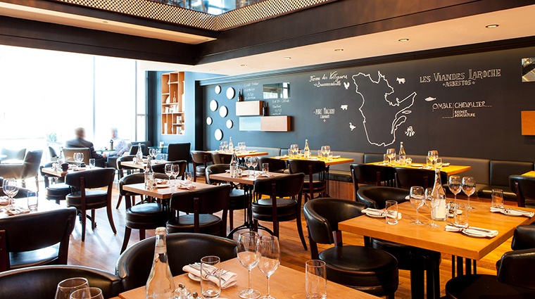 Property BistroLaurentienLaCoupole Restaurant Dining FirstFloorDining HotelLeCrystalMontreal