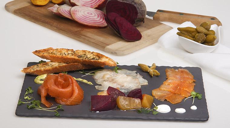 Property BistroLaurentienLaCoupole Restaurant Dining PiqassiettePoissonsFumes HotelLeCrystalMontreal