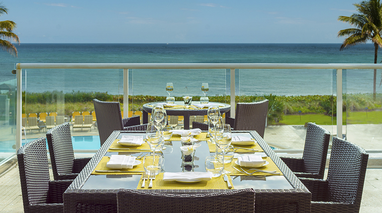 Property BocaBeachClub Dining SeaGrillePatio HiltonWorldwide