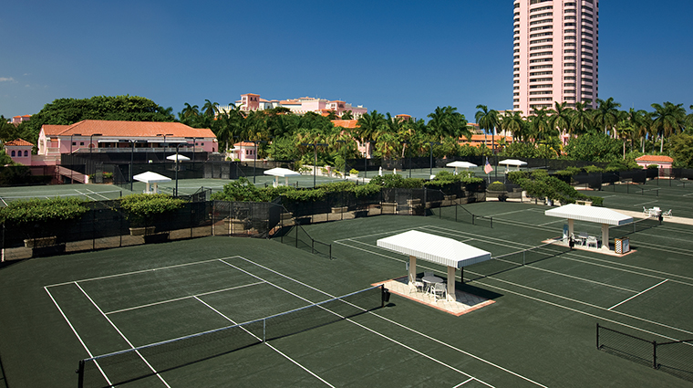 Property BocaRatonResort&Club Hotel Activities TennisCourts HiltonWorldwide