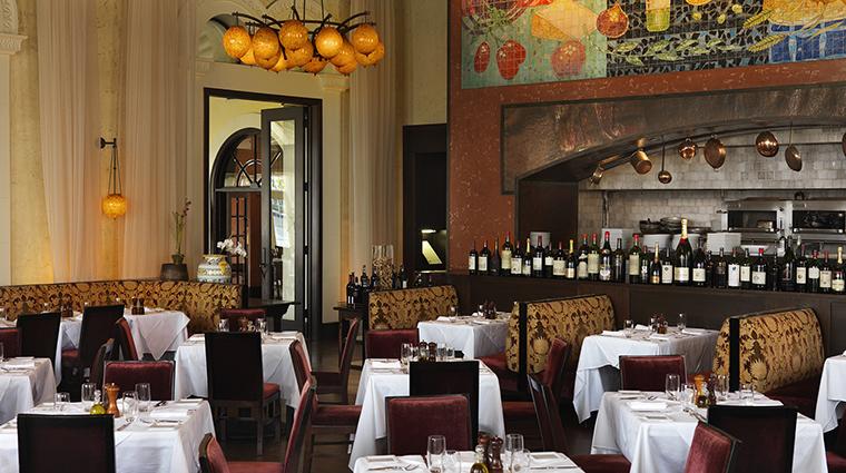 Property BocaRatonResort&Club Hotel Dining Lucca HiltonWorldwide