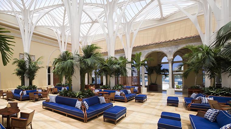 Property BocaRatonResort&Club Hotel Dining PalmCourt HiltonWorldwide