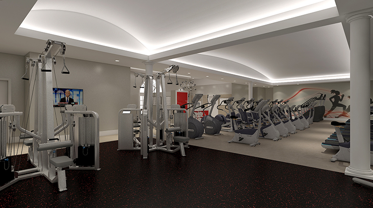 Property BocaRatonResort&Club Hotel PublicSpaces FitnessCenter HiltonWorldwide