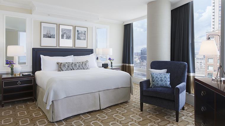 Property BostonHarborHotel Hotel GuestroomSuite HarborviewSuiteBedroom BostonHarborHotel