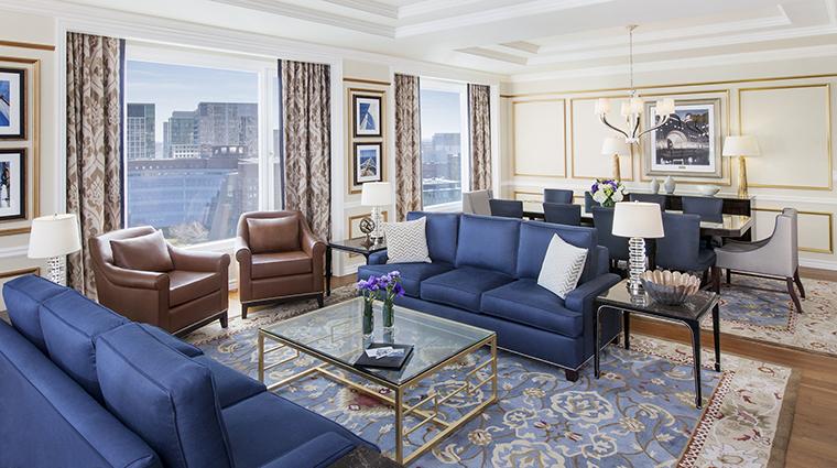 Property BostonHarborHotel Hotel GuestroomSuite PresidentialSuiteLivingRoom BostonHarborHotel