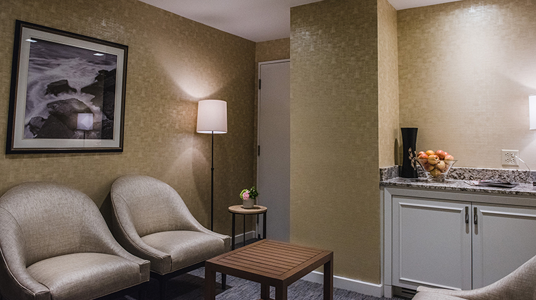 Property BostonHarborHotel Hotel Spa SittingRoom BostonHarborHotel