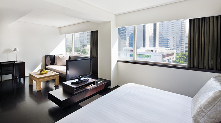 Property COMOMetropolitanBangkok Hotel GuestroomSuite StudioRoom TheCOMOGroup