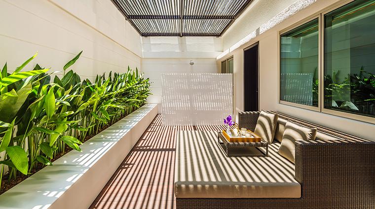 Property COMOMetropolitanBangkok Hotel GuestroomSuite TerraceRoomTerrace TheCOMOGroup