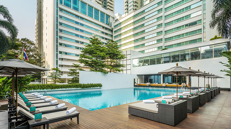 Property COMOMetropolitanBangkok Hotel PublicSpaces SwimmingPool TheCOMOGroup
