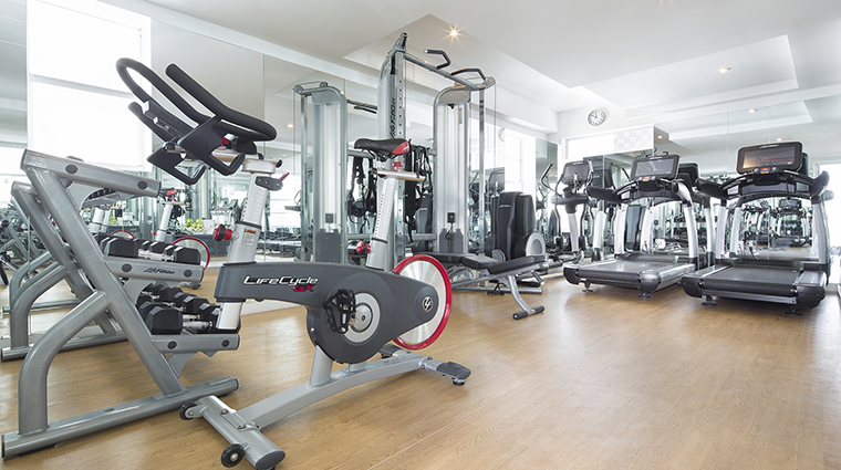 Property COMOMetropolitanMiamiBeach Hotel PublicSpaces Gym COMOHotelsandResorts