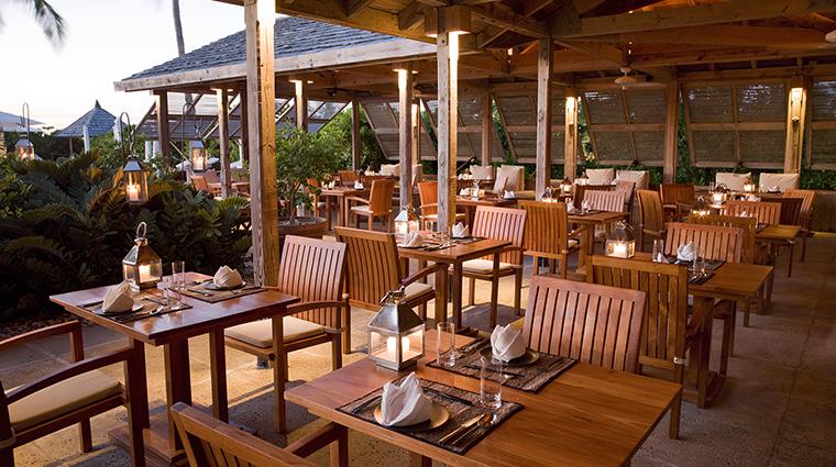 Property COMOParrotCay Hotel Dining LotusRestaurant COMOHotelsandResorts