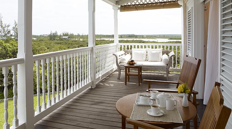 Property COMOParrotCay Hotel GuestroomSuite OceanFacingRoomTerrace COMOHotelsandResorts