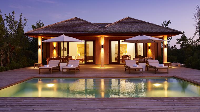 Property COMOParrotCay Hotel GuestroomSuite TwoBedroomBeachHouseExterior COMOHotelsandResorts