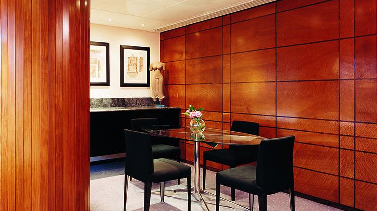 Property COMOTheHalkinLondon Hotel GuestroomSuite COMOSuiteDiningArea TheCOMOGroup