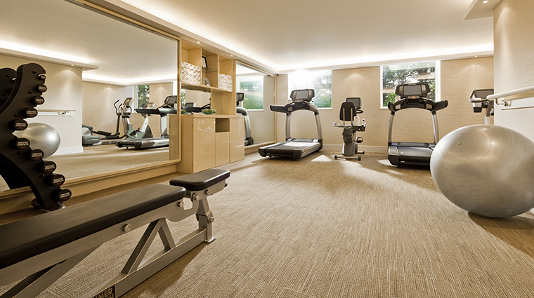 Property COMOTheHalkinLondon Hotel PublicSpaces Gym TheCOMOGroup