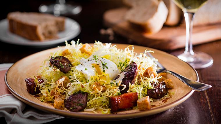 Property CafeBoulud Restaurant Dining FriseeLyonnaise FourSeasonsHotelsLimited