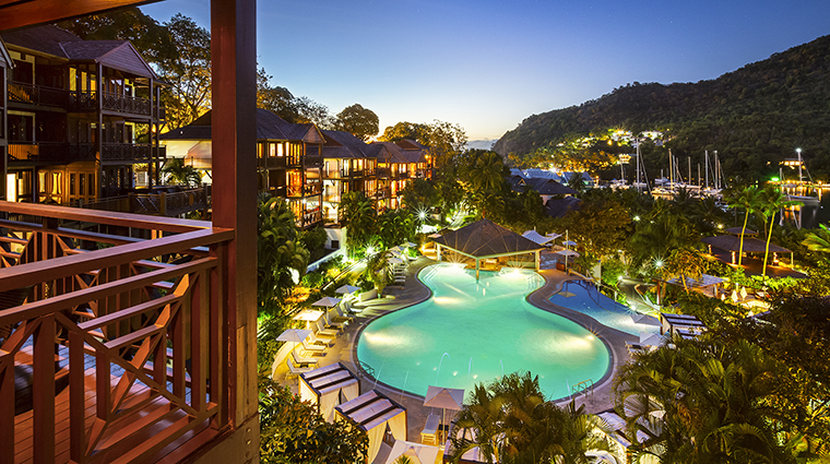 Property CapellaMarigotBay Hotel PublicSpaces MainPoolwithSwimUpBar CapellaHotelsandResorts