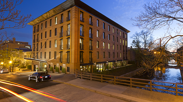 Property CapellaWashingtonDCGeorgetown Hotel Exterior NightTimeExterior CapellaHotelsandResorts