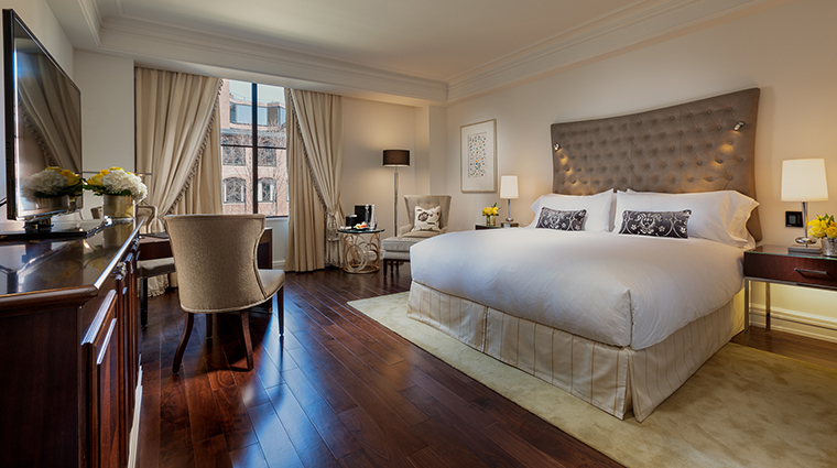 Property CapellaWashingtonDCGeorgetown Hotel GuestroomSuite DeluxeStandardRoom CapellaHotelsandResorts