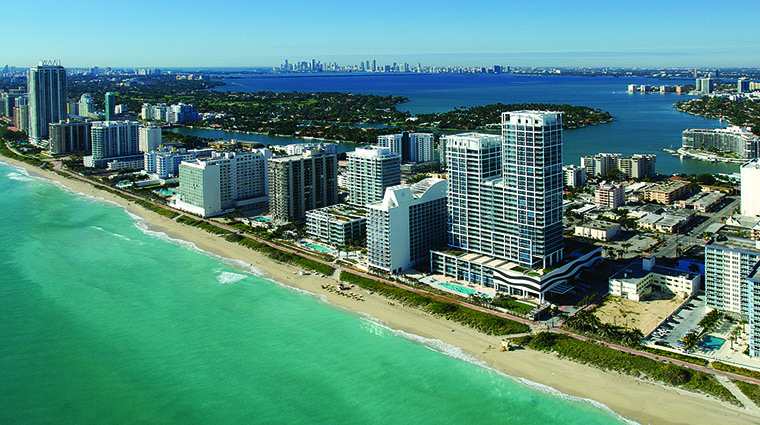 Property CarilionHotel&Spa Hotel Exterior AerialView CarillonMiamiBeach