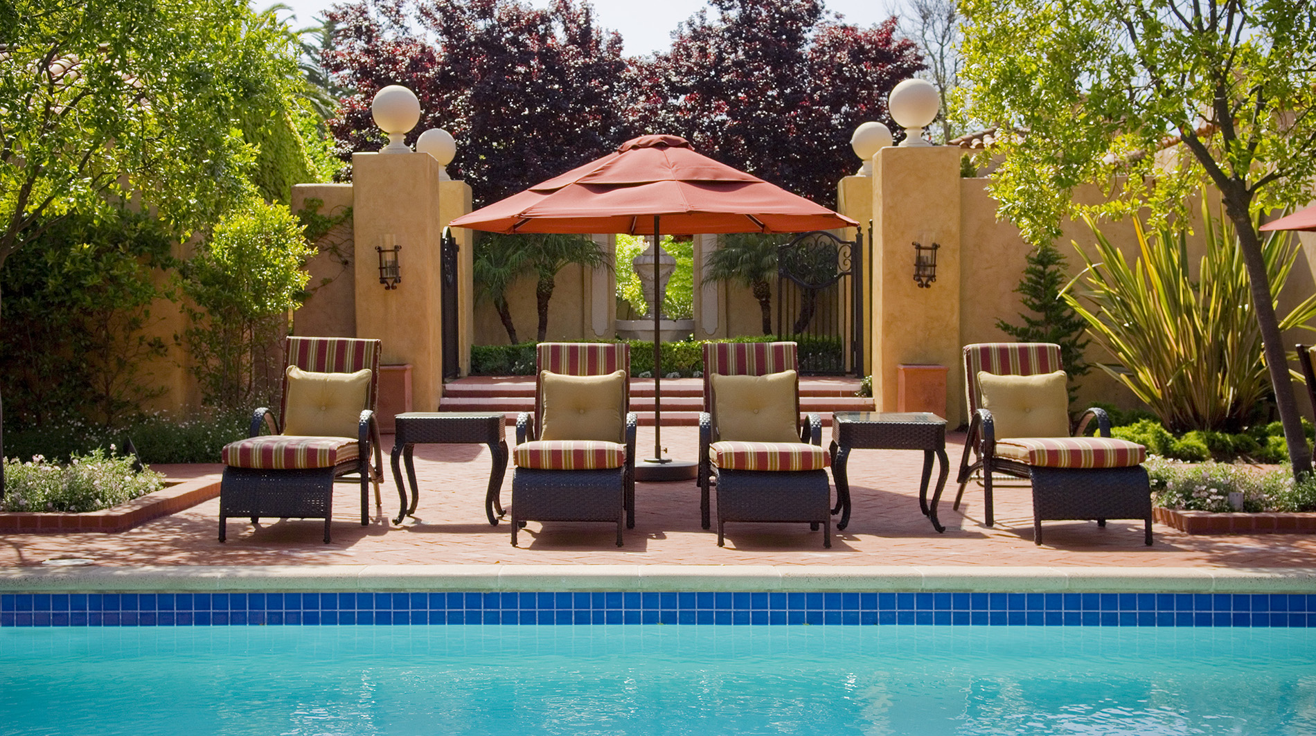 Property CasaPalermo Hotel PublicSpaces SwimmingPool PebbleBeachCompany
