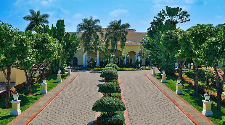 Property CasaVelasPuertoVallarta Hotel Exterior MotorLobby VelasResorts