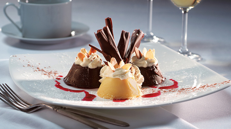 Property ChandlersSteakhouse 9 Restaurant Food ChocolateTrifecta CreditChandlersSteakhouse
