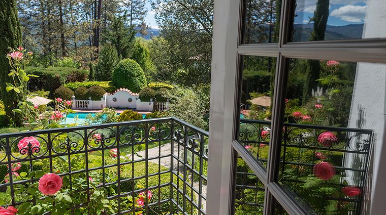 Property ChateauDuSureau Hotel GuestroomSuite LavenderRoomView ChateauDuSureau