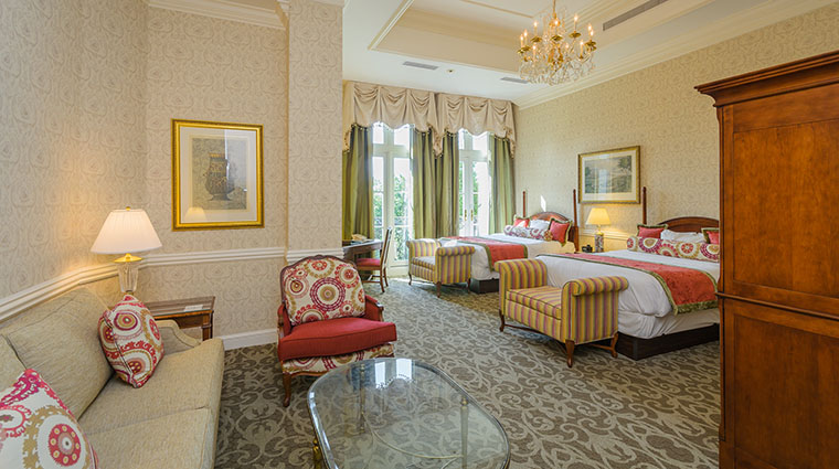 Property ChateauLafayetteatNemacolinWoodlandsResort Hotel GuestroomSuite ChateauDouble NemacolinWoodlandsResort