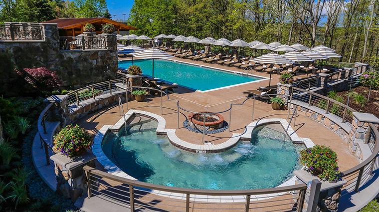 Property ChateauLafayetteatNemacolinWoodlandsResort Hotel PublicSpaces ParadisePool NemacolinWoodlandsResort