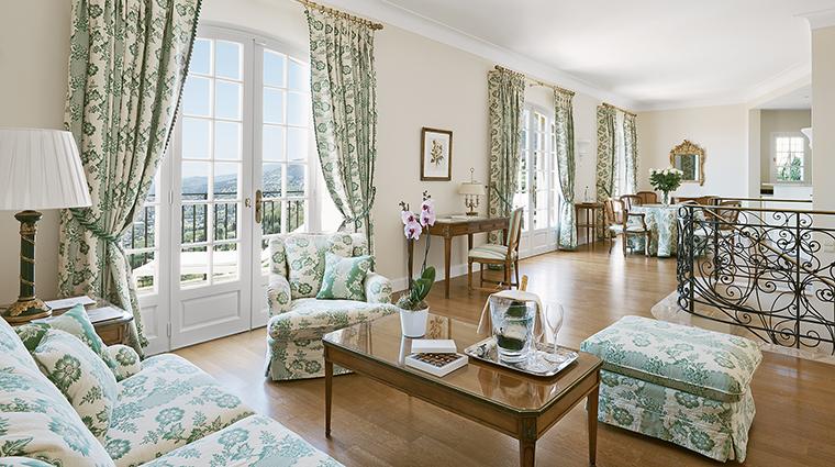 Property ChateauSaintMartin&Spa Hotel GuestroomSuite 2BedroomVillaLivingRoom OetkerHotelManagementCompany
