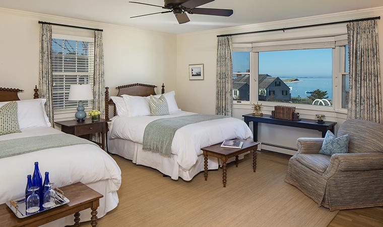 Property ChathamBarsInnResortandSpa 4 Hotel GuestroomSuite OceanViewGuestroom Bedroom CreditChathamBarsInn