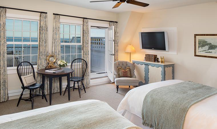 Property ChathamBarsInnResortandSpa 5 Hotel GuestroomSuite OceanViewCottageGuestRoom Bedroom CreditChathamBarsInn