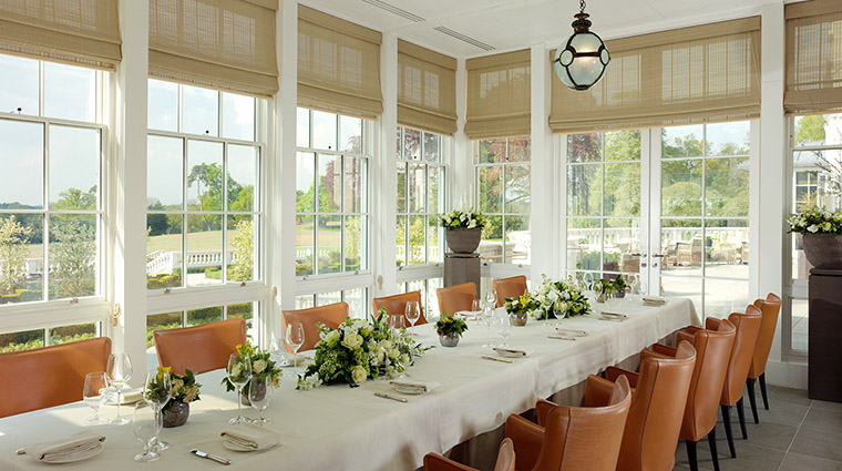 Property CoworthPark Hotel Dining TheConservatoryatRestaurantCoworthPark DorchesterCollection