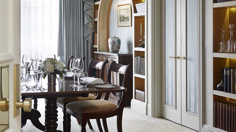 Property CreditTheGoringHotel Hotel GuestroomSuite RoyalSuiteDiningRoom CreditTheGoring