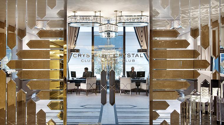 Property CrownTowersMelbourne Hotel BarLounge CrystalClubLoungeEntrance CrownResortsLTD