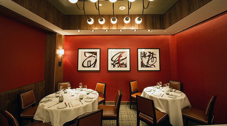 Property DBBistroModerne Restaurant 3 Style DiningAlcove CreditD.Krieger