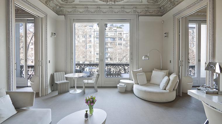 Property ElPalauetLivingBarcelona Hotel GuestroomSuite PrincipalPaseodeGraciaSuite ElPalauetLivingBarcelona