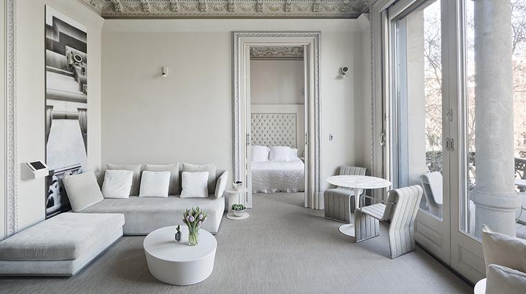 Property ElPalauetLivingBarcelona Hotel GuestroomSuite PrincipalPaseodeGraciaSuite2 ElPalauetLivingBarcelona
