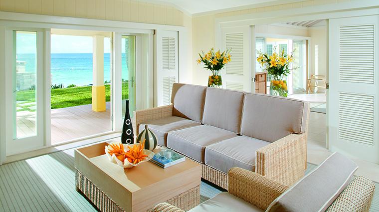 Property ElbowBeachBermuda Hotel GuestroomSuite BirdofParadiseCottageLivingRoom ElbowBeachBermudaResort&Spa