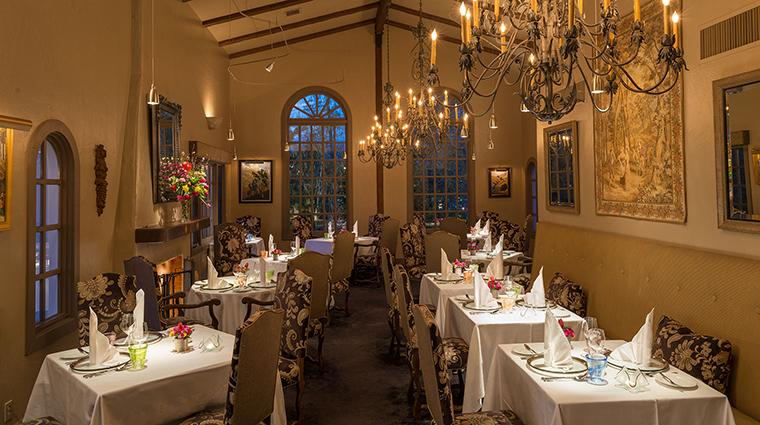 Property ErnasElderberryHouse Restaurant Dining TheEscoffierDiningRoom ChateauDuSureau
