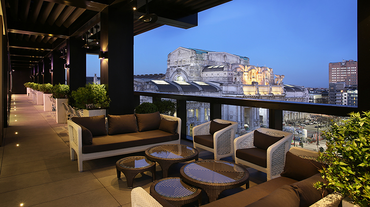 Property ExcelsiorHotelGallia Hotel Dining TerrazzaGalliaView StarwoodHotels&ResortsWorldwideInc