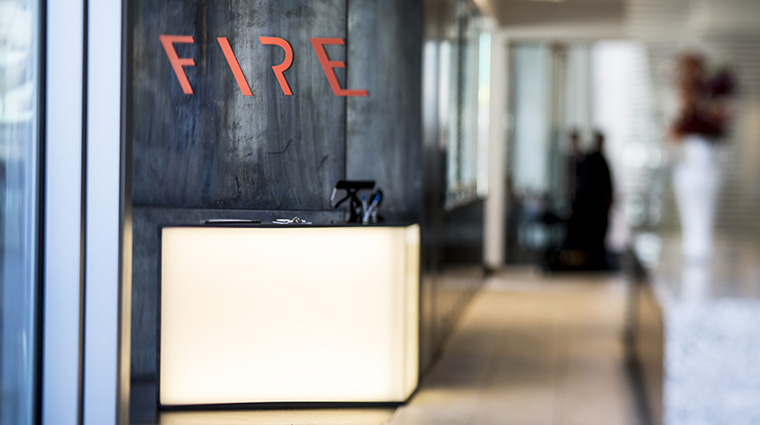 Property FIRE Restaurant Dining Reception theARThotel