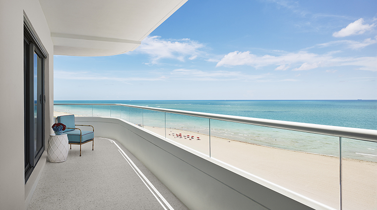Property FaenaHotelMiamiBeach Hotel GuestroomSuite GuestroomTerraceView FaenaGroup