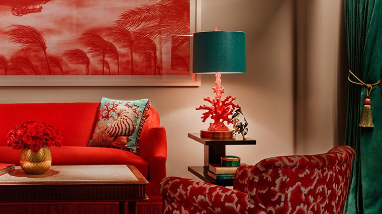 Property FaenaHotelMiamiBeach Hotel GuestroomSuite OceanViewJuniorSuiteLivingArea FaenaGroup